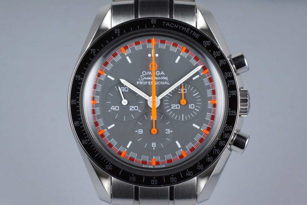 The 2004 Reference 3570.40 — Japanese Racing Dial (Image: hqmilton.com)