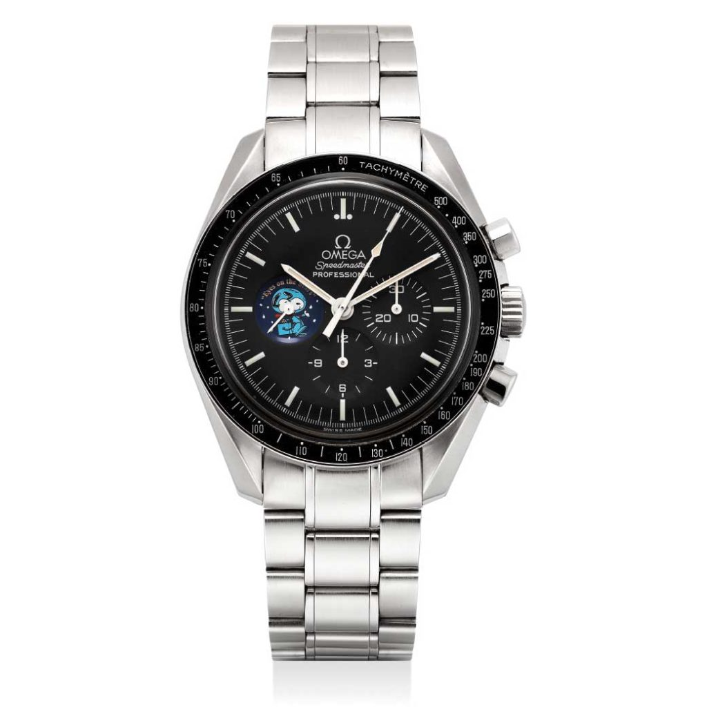 "Speedmaster Professional ""Snoopy"" ref. 145.0031 (Image: phillipswatches.com)"