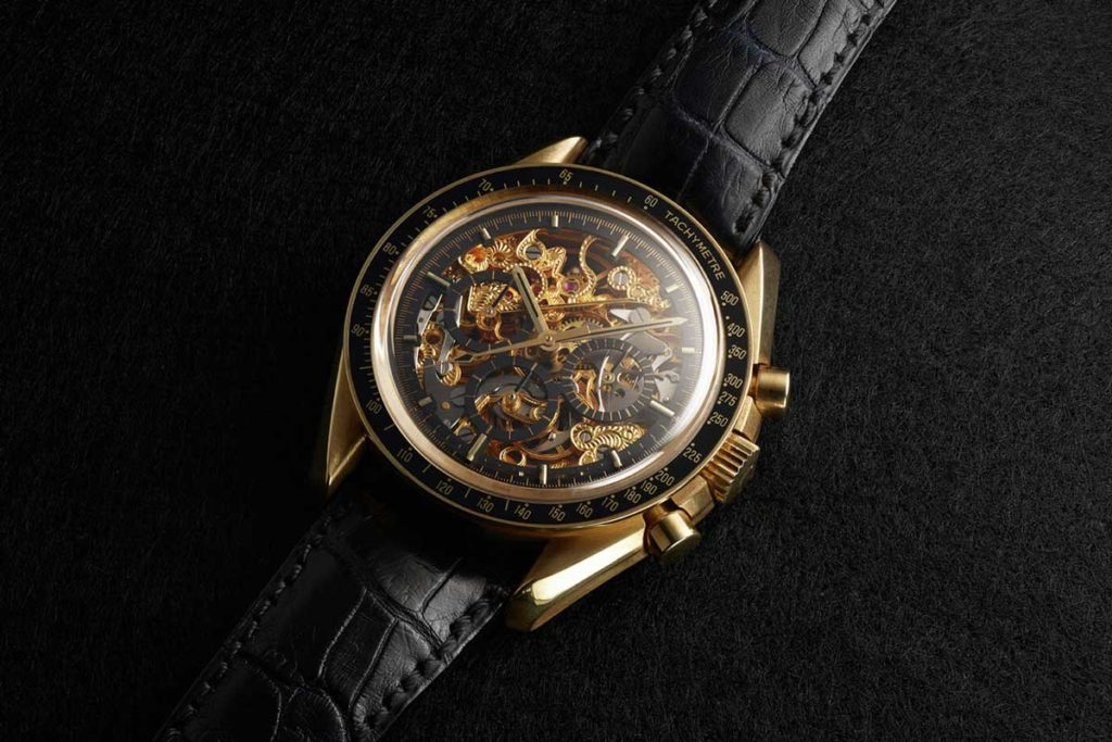 The 1992 Rare Hand-Crafted Limited Edition, Skeleton Reference BA 145.0053 (Image: omegawatches.com)