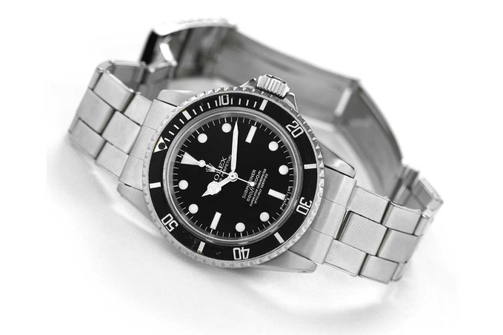 McQueen's Rolex Submariner ref. 5512 that sold with Antiquorum for US$234,000 (Image: Antiquorum)