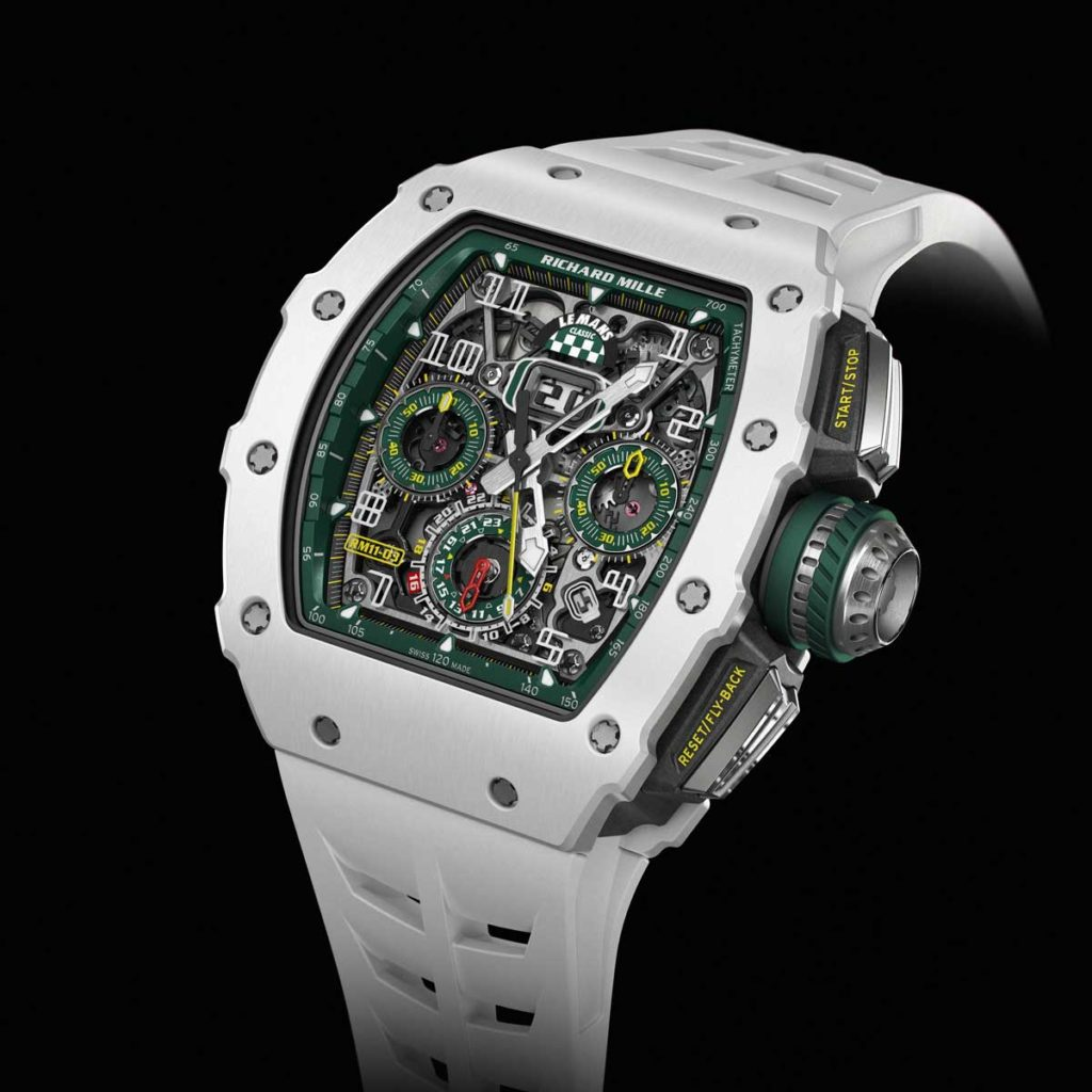 The RM 11-03 Le Mans Classic issued in a limited run of 150 pieces, commemorating the 2018 Le Mans Classic (Image: richardmille.com)