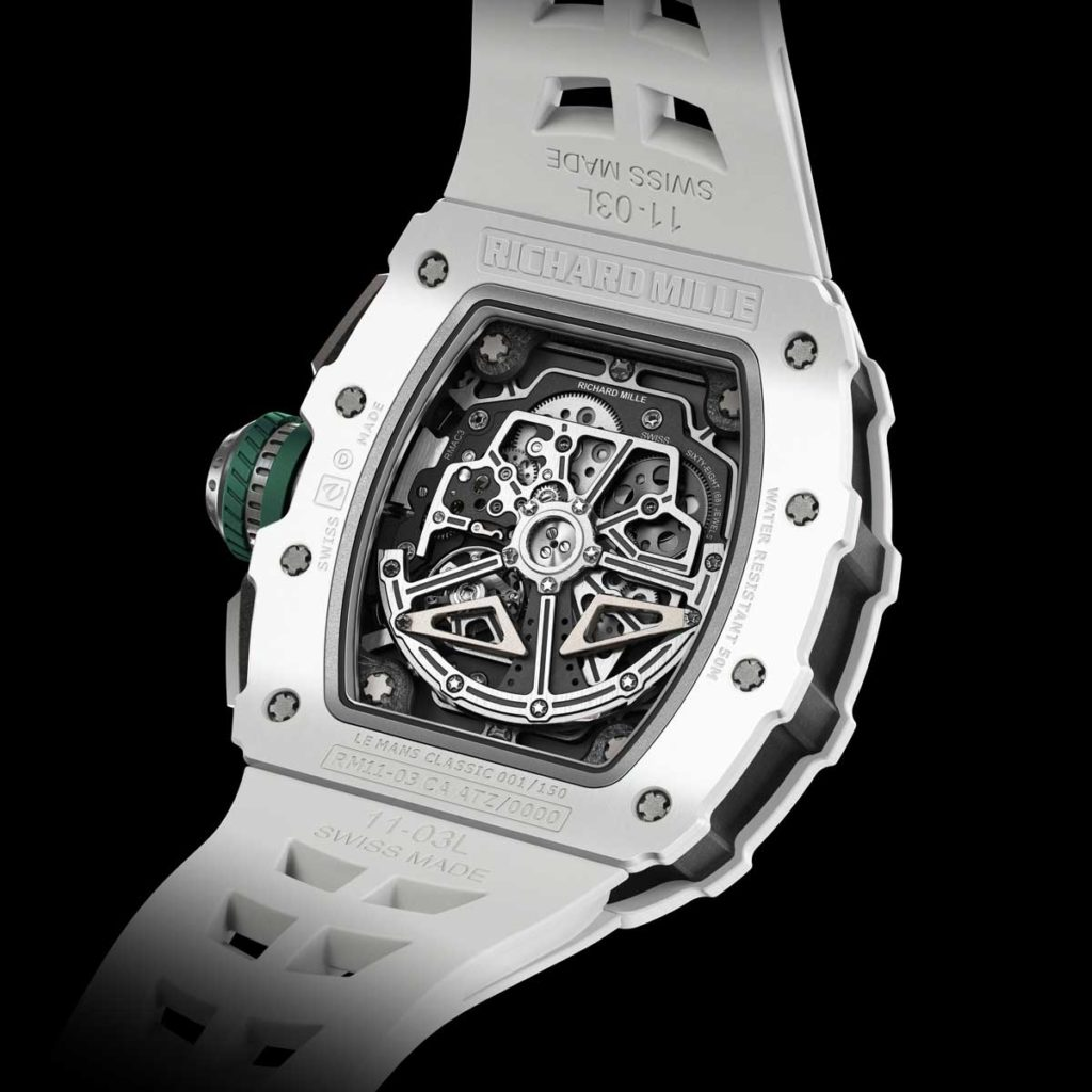 The caliber RMAC3 powering the RM 11-03 Le Mans Classic (Image: richardmille.com)