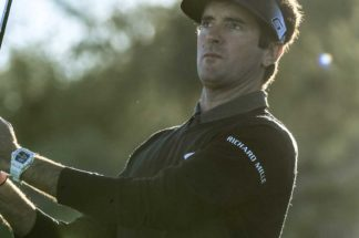 One of the longest drivers on the PGA Tour and Richard Mille ambassador, Bubba Watson wearing the RM 038 Tourbillon Bubba Watson (Image: richardmille.com; credit: Allan Henry-@AllanHenry)