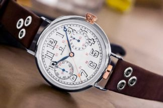 The First Omega Wrist-Chronograph Limited Edition, in just 18 examples power by the 18''' CHRO calibre from 1913