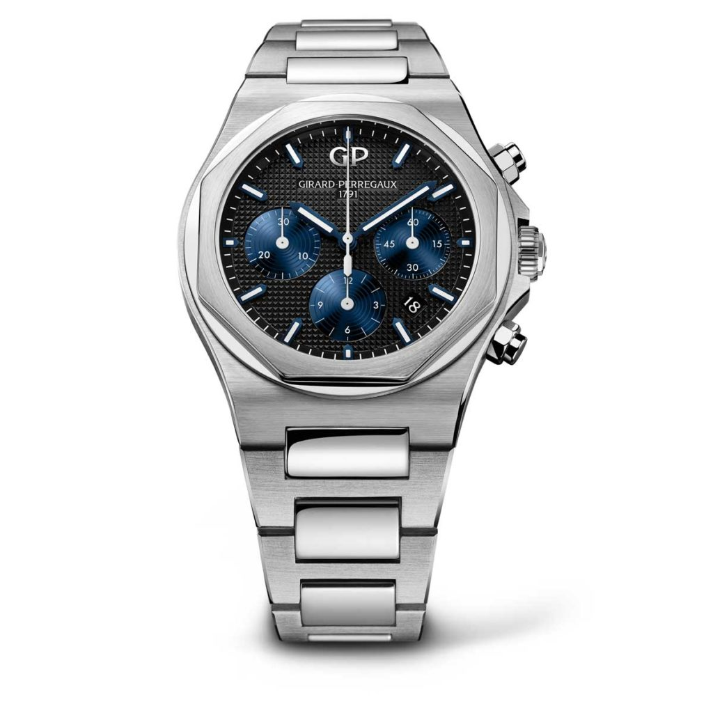 Girard-Perregaux Laureato Chronograph 42mm steel on steel with black dial variation