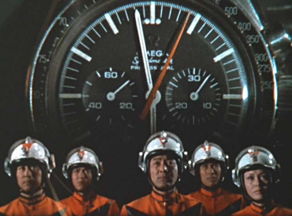 Quick screen-grab of the Speedmaster that is featured in episode 8 of The Return of Ultraman, 1971 (Image: omegawatches.com)