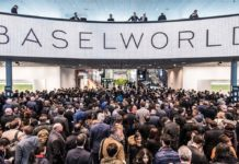Opening day at Baselworld 2018