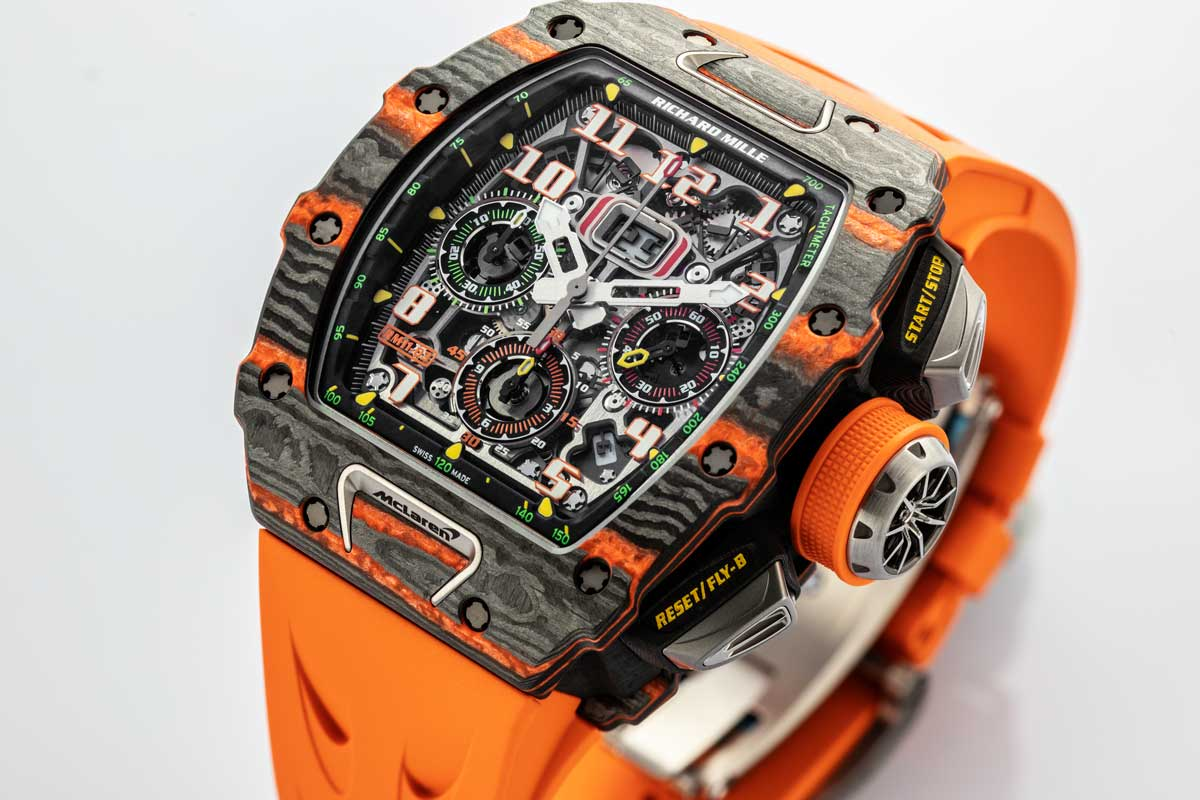 Richard Mille RM 11-03 McLaren (© Revolution)