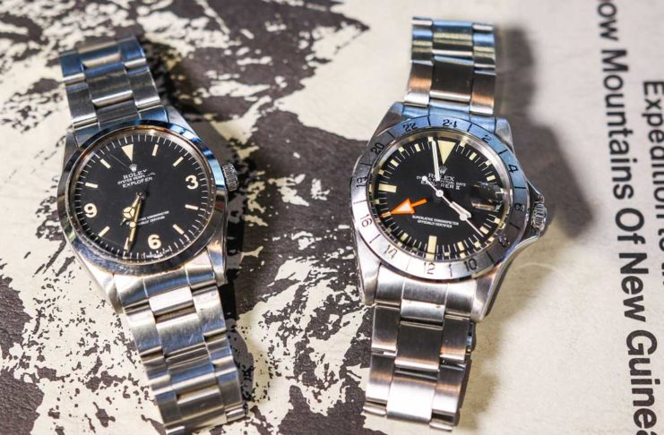 The Rolex Explorer ref. 1016 and Explorer II ref. 1655