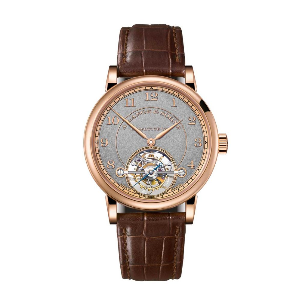 The 1815 Tourbillon Handwerkskunst in pink gold