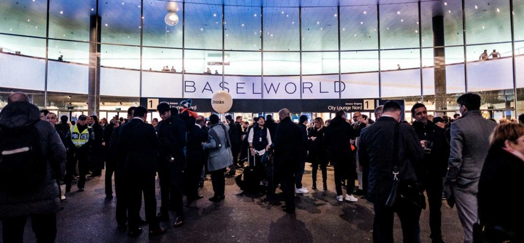 Evenings at Messe Basel during Baselworld 2018 (© Revolution)