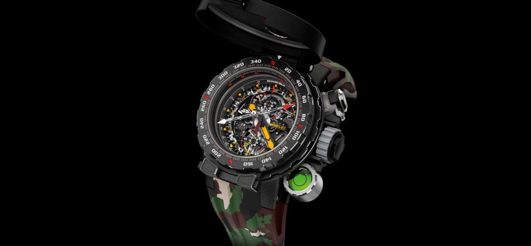 The RM 25-01 Tourbillon Adventure Sylvester Stallone