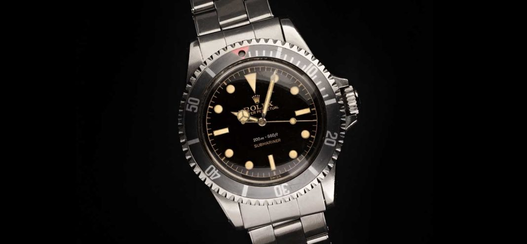 Rolex Square Crown Guard Submariner Reference 5512