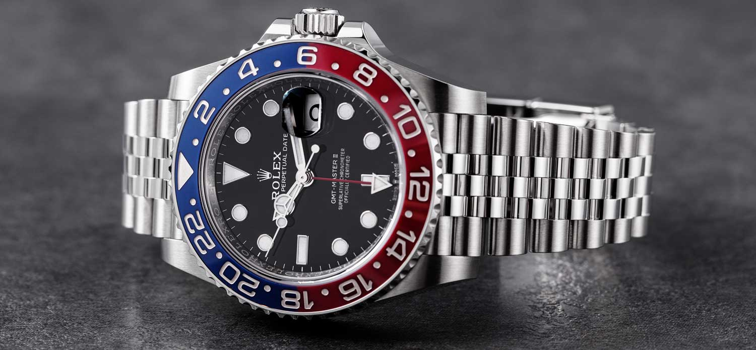 Ref. 126710BLRO GMT-Master II in steel with Pepsi bezel (© Revolution)