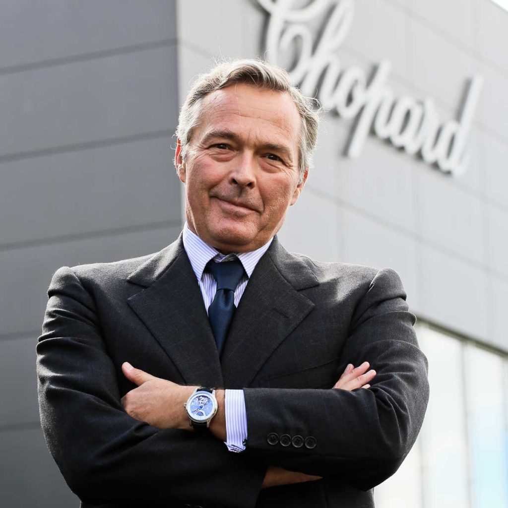 Mr Karl-Friedrich Scheufele, co-president of Chopard