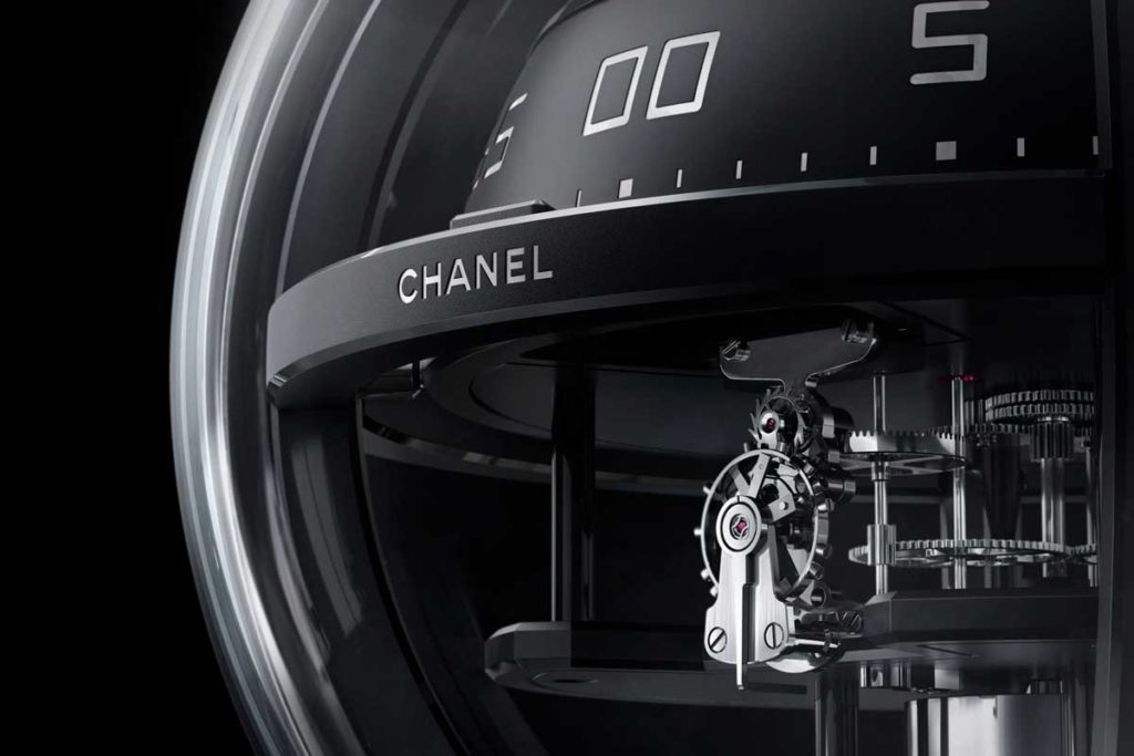 The Chanel Monsieur de Chanel Chronosphere Clock