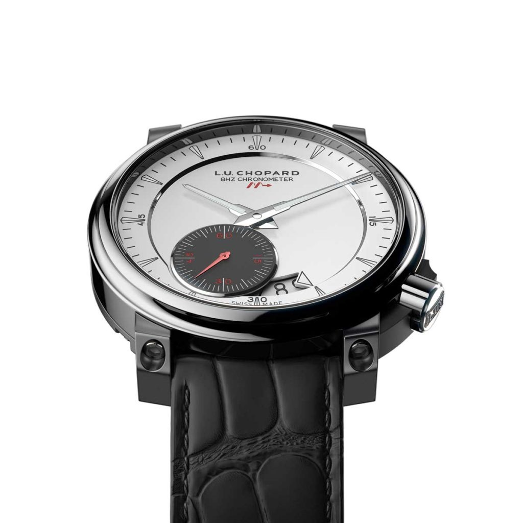 2012 — Chopard brings us the 8HF watch that vibrates at a staggering 8Hz.
