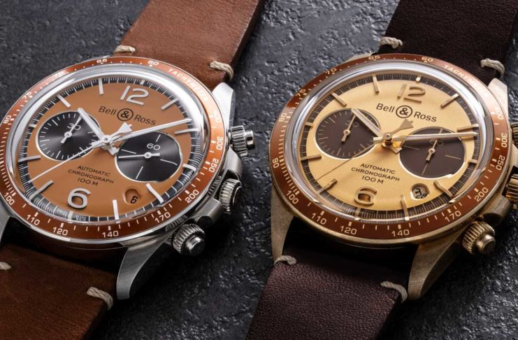 "Introducing the Bell &  Ross x  The  Rake  and Revolution Bellytanker  ""El  Mirage"" and ""Dusty"" Chronographs"
