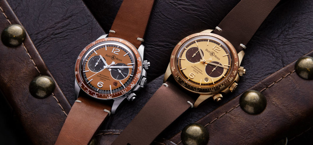 """The Bell & Ross x The Rake and Revolution Bellytanker """"Dusty"""" and """"El Mirage"""" Chronographs (© Revolution)"""