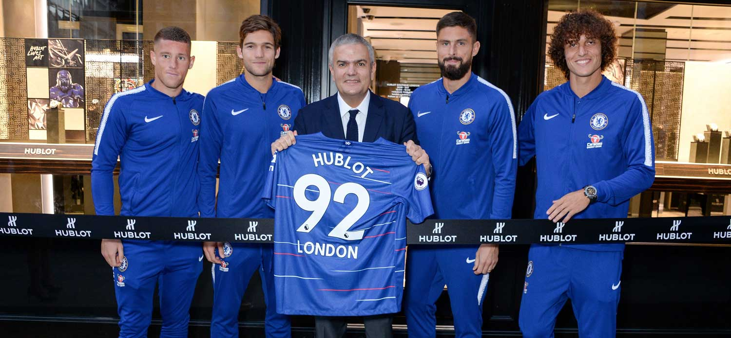 Hublot sets up shop in London