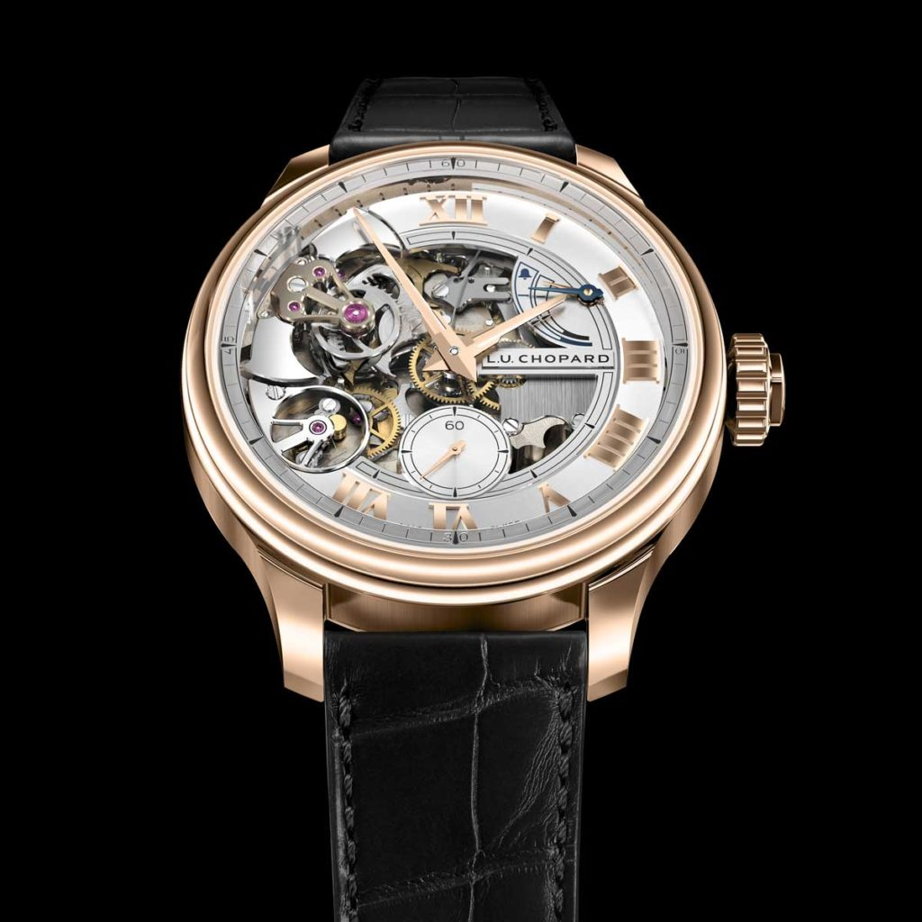 2016 — The L.U.C Full Strike minute repeater is launched