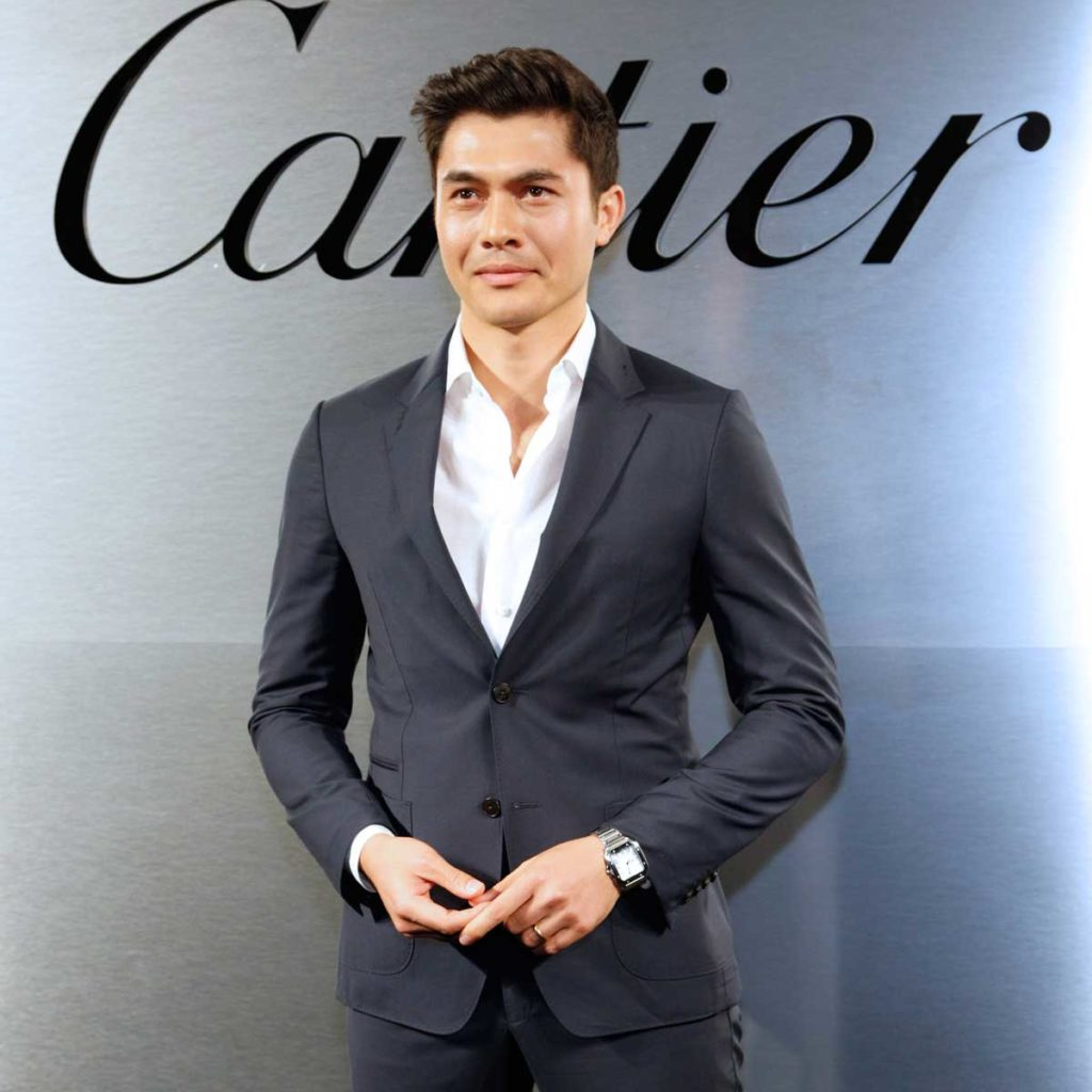 Henry Golding at the Cartier 'bold' party (Image: Cartier)