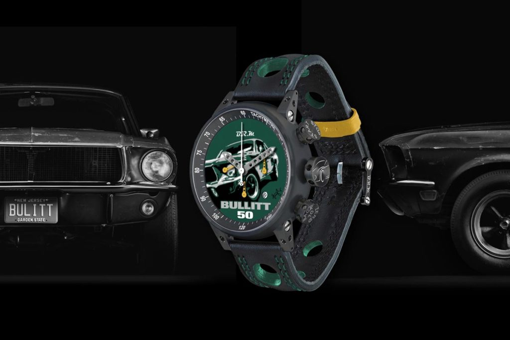 The One-of-a-Kind, Hand-Painted Bullitt 50 Chronograph