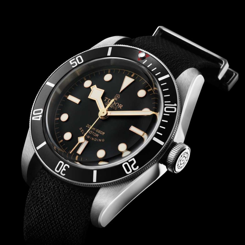 The first-generation Tudor Black Bay Black announced in October of 2015 (Image: Tudor)