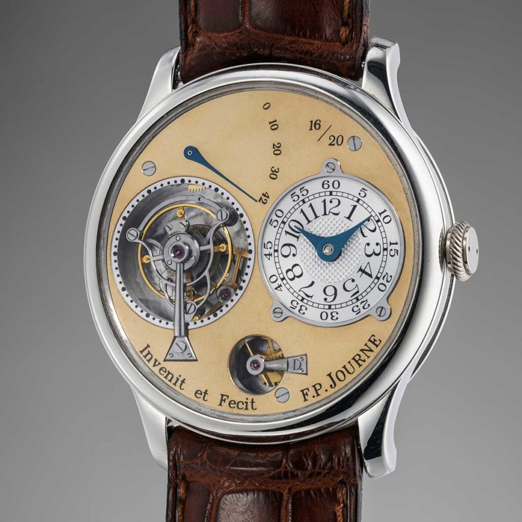 F.P. Journe Tourbillon Souverain Souscription, no. 16 of 20 (Image: @PhillipsWatches)