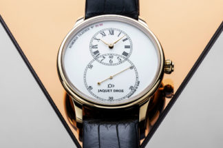Grande Seconde Tribute wristwatch (Image ©Revolution)