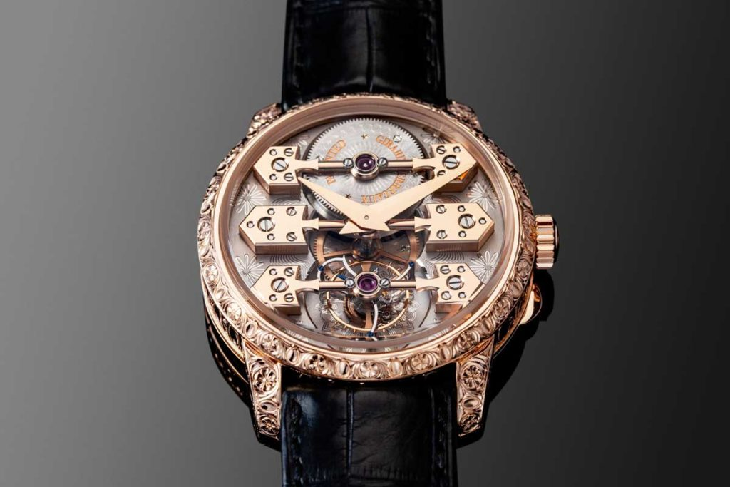 "The La Esmeralda Tourbillon ""À secret"" (Image © Revolution)"