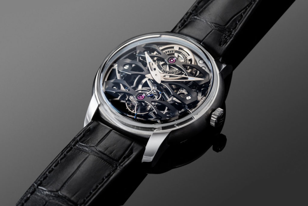 The Neo Tourbillon with Three Bridges Skeleton (Image © Revolution)