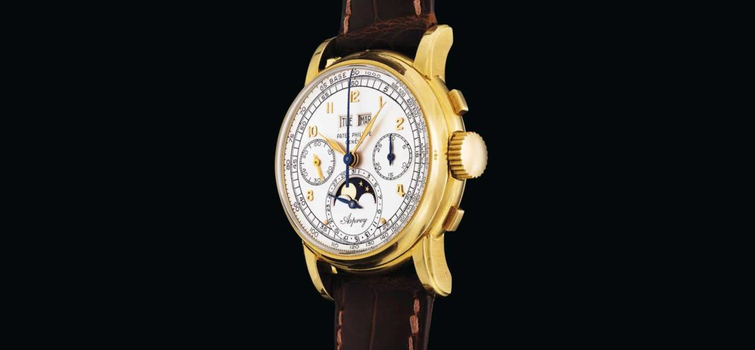 Sotheby's Sells One-of-a-Kind Asprey-Signed Ref. 2499 for a Record USD 3,879,843