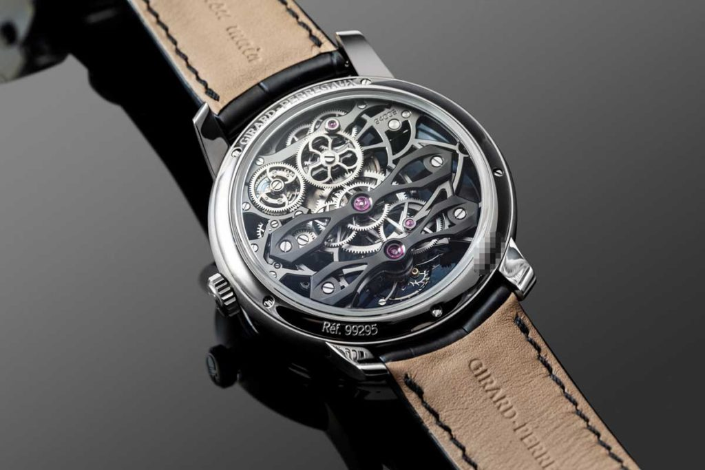 Caseback of the Neo Tourbillon with Three Bridges Skeleton (Image © Revolution)