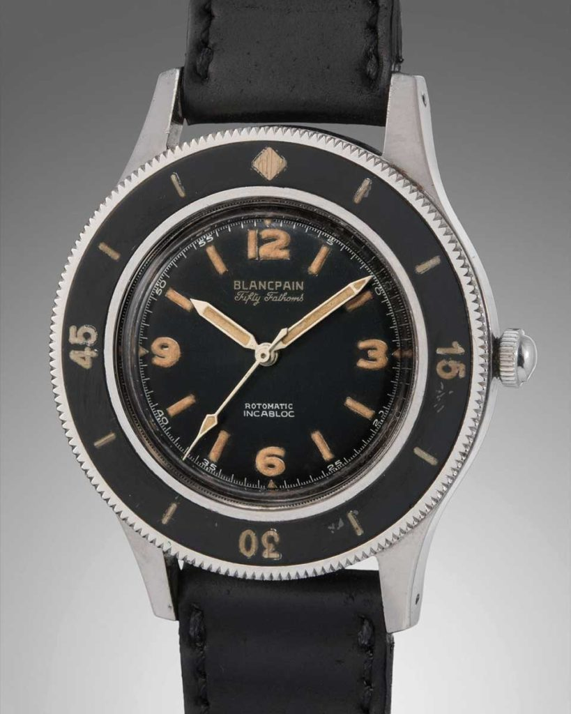 Lot 36: 1953 Blancpain Fifty-Fathoms
