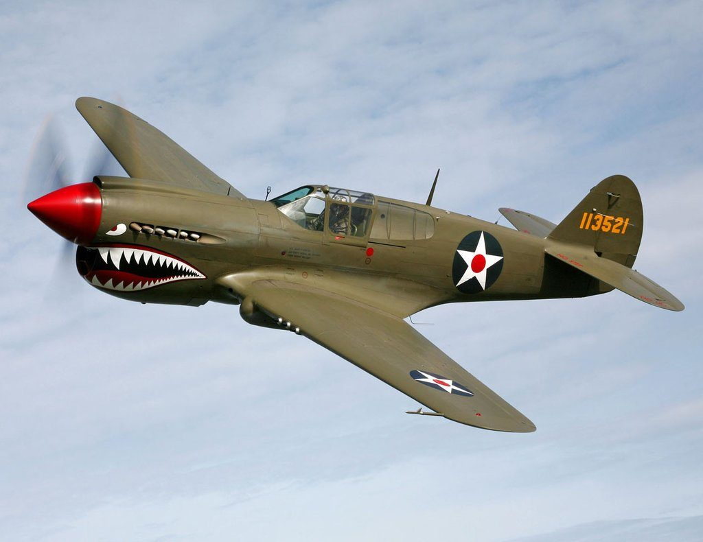 The Curtiss P-40 Warhawk
