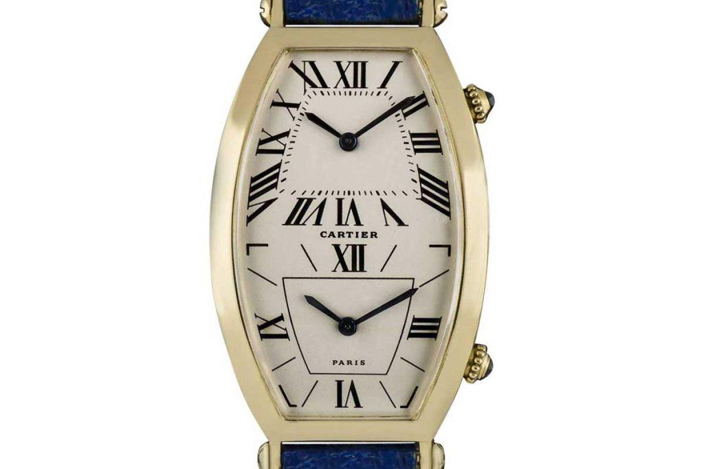 Cartier Tonneau XL Dual Time Zone