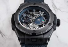 The Hublot Big Bang Meca-10 P2P (Image © Revolution)