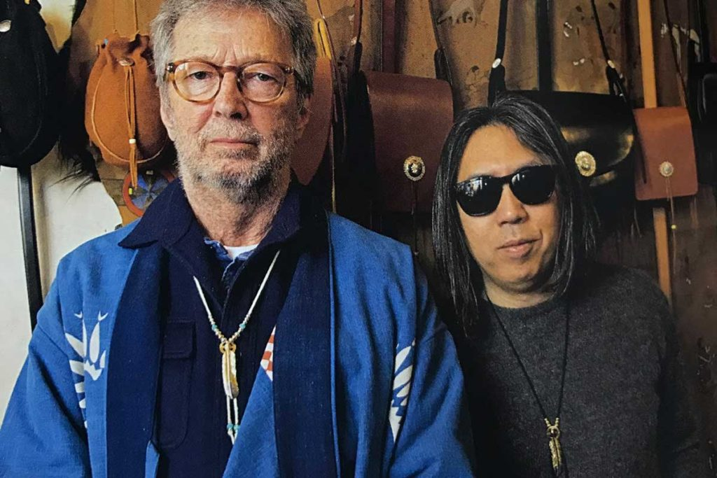 Eric Clapton with Hiroshi Fujiwara