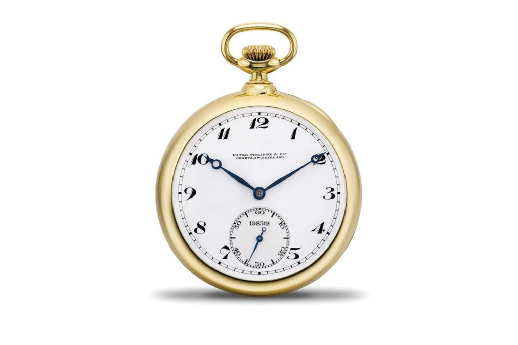 Lot 840 at the HKWA7, a Patek Philippe pocket watch with a James C. Pellaton tourbillon carriage, which received the first-class prize at the Geneva 1929 Observatory timing competition and a further Honorable mention in 1931. Sold for US$419,184