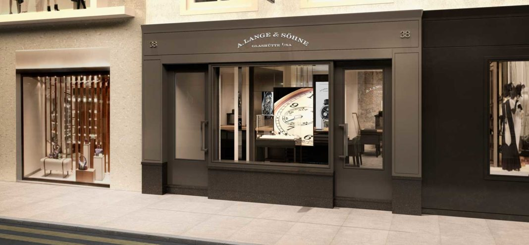 A. Lange & Söhne at Old Bond Street in London's Mayfair