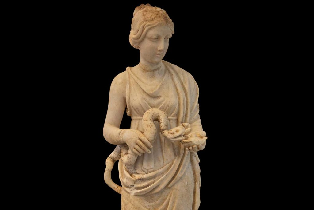 Hygieia, the Greek goddess of health
