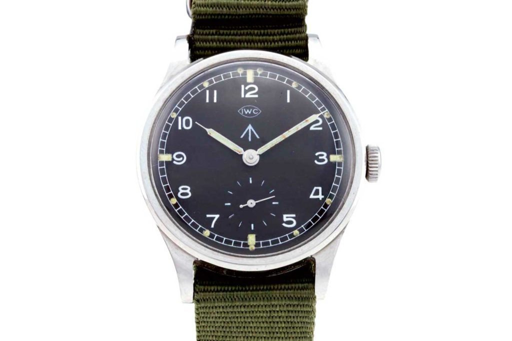 "The IWC ""Dirty Dozen"" watch, 1940s"