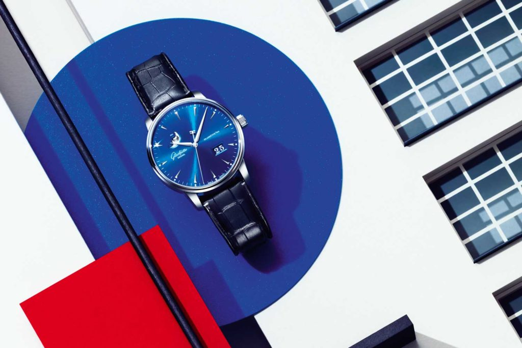 Senator Excellence Panorama Date Moon Phase in stainless steel (Image: Tomas Monka)