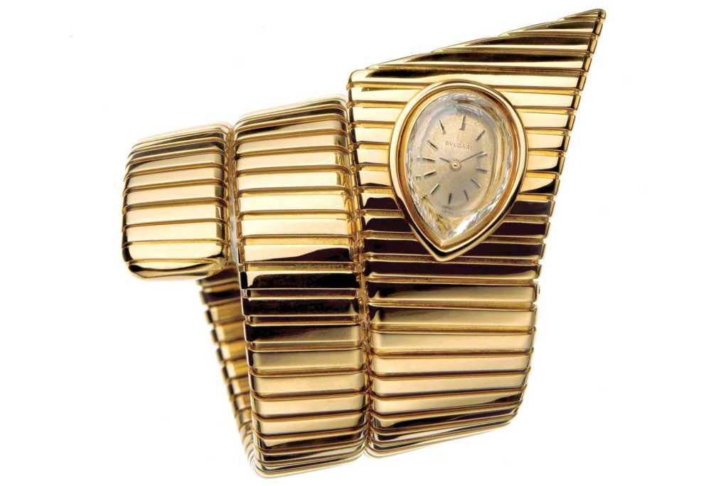 Vintage Bulgari Serpenti Watch during 1940s