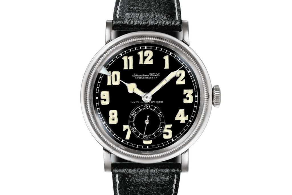 "The IWC Spezialuhr für Flieger or ""Special Watch for Pilots"" first manufactured in 1936"