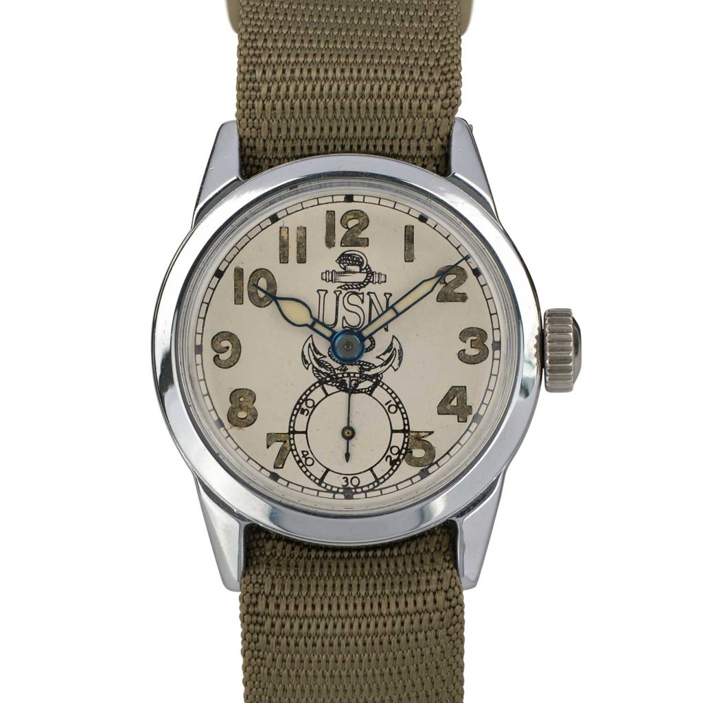 WWII Service Logo Watch 1942