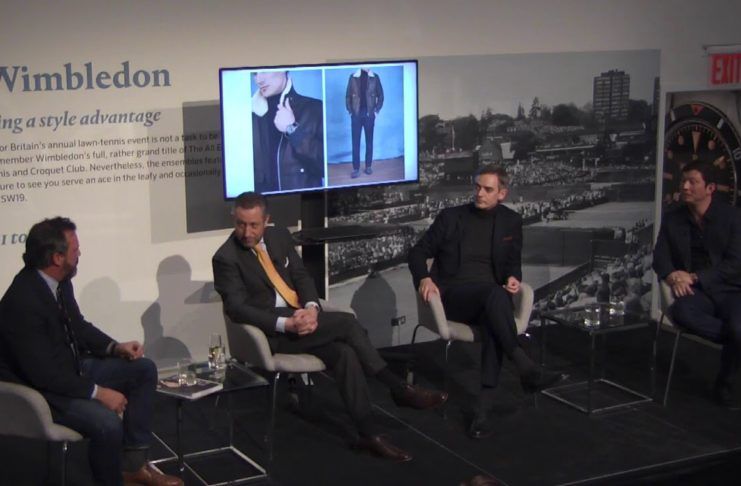 Styled Auction Panel Moderated by Michael Williams Featuring Aurel Bacs, Toby Bateman & Wei Koh