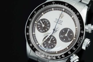 MK II Rolex Paul Newman Daytona ref. 6263 with matching tropicalised sub dials and other seconds track (Image © Revolution)