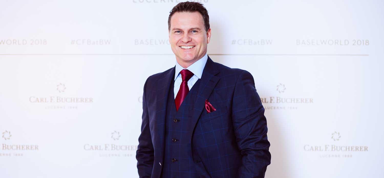 Sascha Moeri, CEO, Carl F. Bucherer